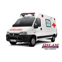 Fiat Ducato Ambulância 0 Km - Van Oslam