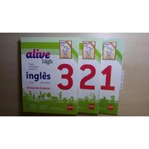 Coleção Profº Alive High Inglês 1º,2º E 3º Ano- Nova Lacrada
