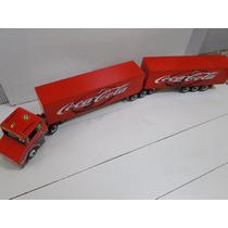 Brinquedo Miniatura Bitrem Scania 9 Eixo Carreta Bau Fechado