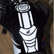 Protetor Tanque Tankpad Faixa Bocal Whi Moto Honda Fan 160