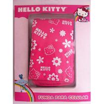 Funda Para Celular Hello Kitty Calcetin! Oferta