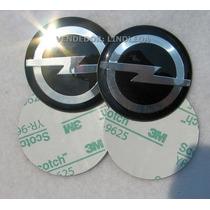56mm Emblemas Centro Rodas Pr Opel Astra Vectra Omega Corsa