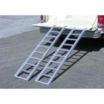 Rampa De Aluminio 1000 Lbs El Par Bi Fold Muy Ligera
