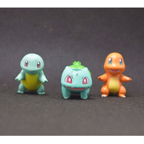 Tomy Pokemon Pokebola+charmander+squirtle+bulbasaur+piakchu