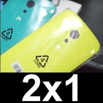 Tapa Moto G2 G 2 Segunda Generación Original 2x1 Envio Grtis