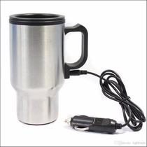 Mug Termico Electrico Para Auto Conexion 12v Encendedor