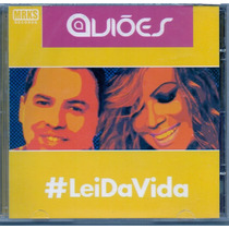 Cd Aviões Do Forró - #lei Da Vida - Novo***