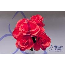 Flores Artificiales Ramo X 7 Rosas, Se Venden Por 10 Ramos