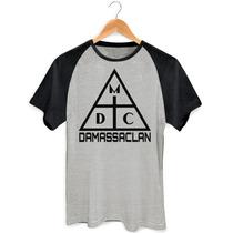 Camisa Camiseta Damassaclan Rap Freestyle Dmc Raglan