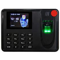 Terminal Reloj Checador Biometrico Huella Digital Usb Sd
