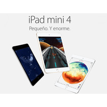 Ipad Mini 4 16 Gb Wifi Delgado Y Potente