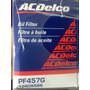 Filtro De Aceite Acdelco Original Chevrolet Orlando Astra 2