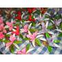 Topas De Tortas Flores 10cm