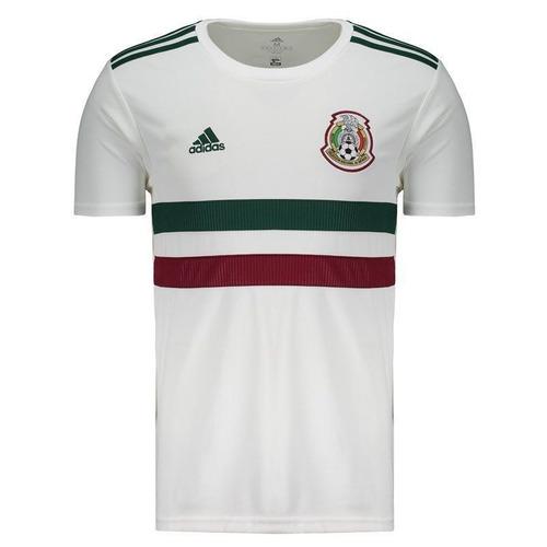 f3f77a9fa4e1c Camisa adidas México Away Copa Da Rússia 2018 Oficial Branca - R  120