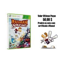 Jogo Rayman Origins Original Para Xbox 360 - Promoção