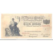Bottero # 1896 - 100 (cien Pesos M/n) Año 1938