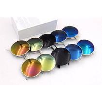 Óculos De Sol Redondo Masculino - Feminino - Frete Rs 10,00