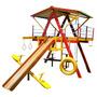 Playground De Madeira Médio - Mundo Da Criança
