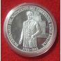 Moneda Plata 100 Bs Nacimiento Libertador 1983 Plata Ley 900