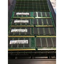 Memoria Desktop 1gb Ddr1 Ddr Samsung 400mhz Pc3200u Pc3200