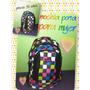 Mochila Porta Nuevo P Mujer Colegio Viaje Delivery Oferta