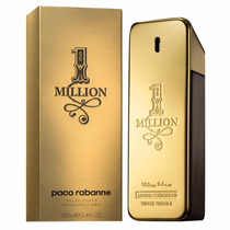 Perfume 1 One Million 100ml - Paco Rabanne 100% Original