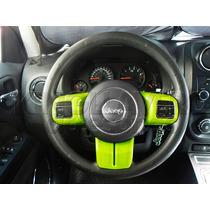 Embellecedores Volante Verde Jeep Compass, Patriot, Wrangler