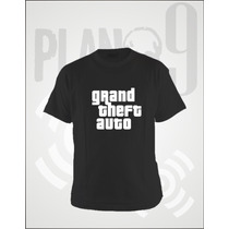 Remeras Estampadas Grand Theft Auto Gta
