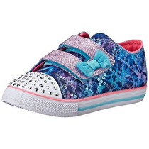 Zapatillas Con Luces Nena Skechers Super Originales