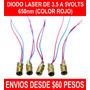 Diodo Laser De 3.5 A 5v 650nm Color Rojo