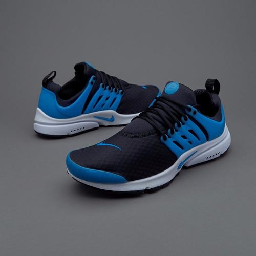 798d9064e7ed Nike Roshe Run Cuero zapatos training Mujer negro azul real royal wwPqQ