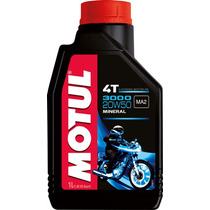 Aceite Para Moto Lubricante Motul 3000 4t Mineral 20w50