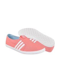 Adidas Zapatos Dama Casuales M19532 23-26 Textil Rosa