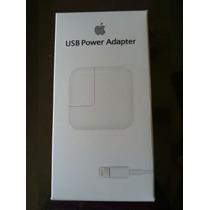 Cargador Ipad 12w Apple Original 100% En Caja Cable + Cuadro
