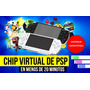 Chip De Psp Virtual En 20 Minutos Con 5 Sorpresas