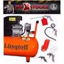 Compresor De Aire 50 Litros Lusqtoff + Kit!! Maxitools