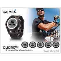 Relógio Gps Navegação Marítima Garmin Quatix - Barômetro Gps