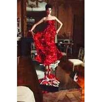 Exclusivo Vestido De Diseñador Giambatissta Valli T:4 Strapl