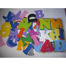 Letras En Goma Eva (fina) X 83 Unidades
