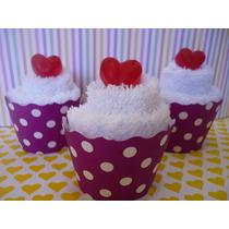 Souvenirs Cupcakes De Toallas Baby Showers Nacimiento,cumple