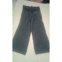Ropa Materna Blue Jeans Materno Pantalón Materno Talla 12l