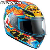 Casco Agv K3 Mugello Integral Valentino Rossi Dompa
