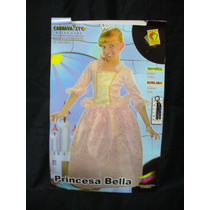 Disfraz De Princesa, Talla 2, Nuevo, Carnavalito