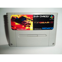 Top Gear 2 Em Ingles Excelente Linda Super Nintendo Snes