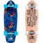 Skate Longboard Carver Mormaii Truck Simulador De Surf Shape