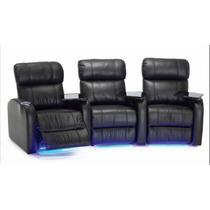 Sofa Reclinable Home Theater Electrico/vaso Enfriador