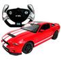 Carrinho Ford Mustang Shelby Gt500 7 Funções 1/14 Vermelho