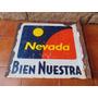 Antiguo Cartel De Tarjeta Nevada Usado