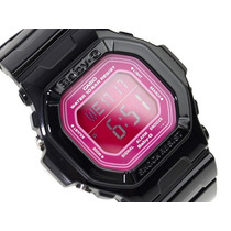 Reloj Casio Baby G Bg5601-1 Crono W Time Wr100m 5 Alarmas
