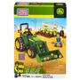 Mega Bloks - John Deere - Tractor Agricola